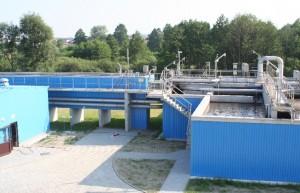 Fot.9 Piaskownik, reaktor biologiczny